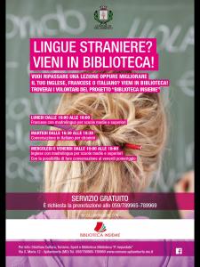 Biblioteca insieme – Lingue straniere ? Vieni in biblioteca @ Biblioteca Comunale di Spilamberto | Spilamberto | Emilia-Romagna | Italia